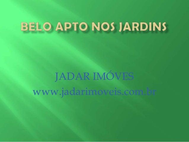 JADAR IMÓVES www.jadarimoveis.com.br