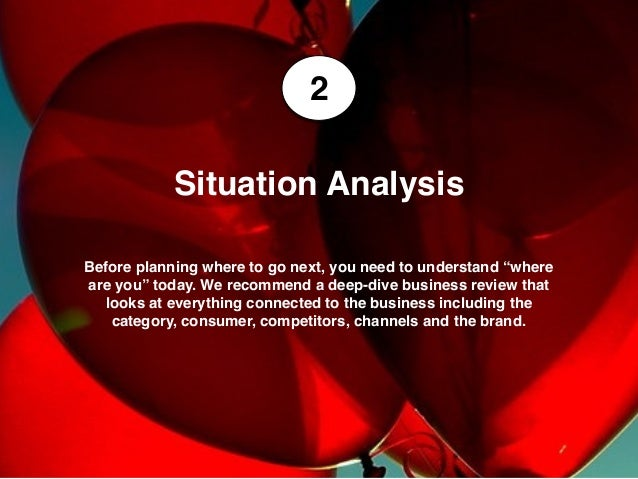 """2 Before planning where to go next, you need to understand """"where are you"""" today. We recommend a deep-dive business review..."""