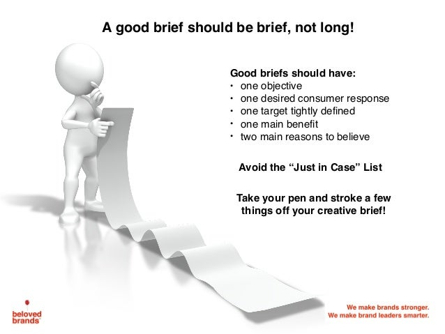 Image result for Define your goals in a creative brief