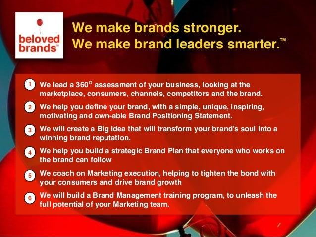 We make brands stronger. We make brand leaders smarter. We make brands stronger. We make brand leaders smarter. We lead a ...