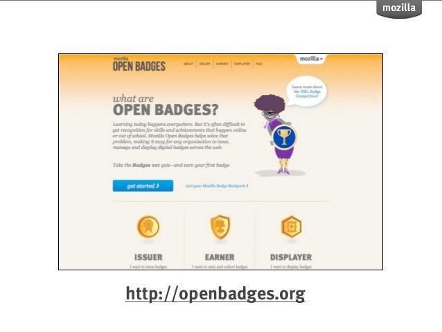 Doug Belshaw  Open Badges Overview