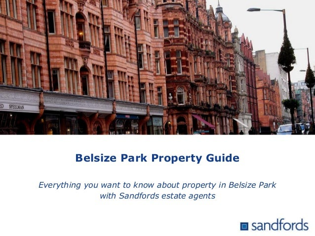 Belsize Park Property Guide Everything you want to know about property in Belsize Park with Sandfords estate agents