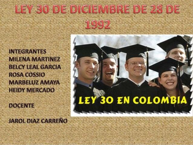  TITULO PRIMERO: fundamento de la educación superior  TITULO SEGUNDO: Del Consejo Nacional de Educación Superior (CESU) ...