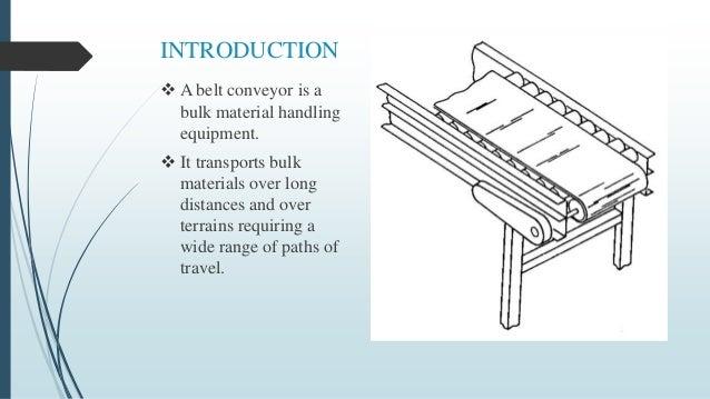 Belt conveyor Slide 3