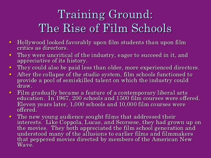 Belton (16) film school generation