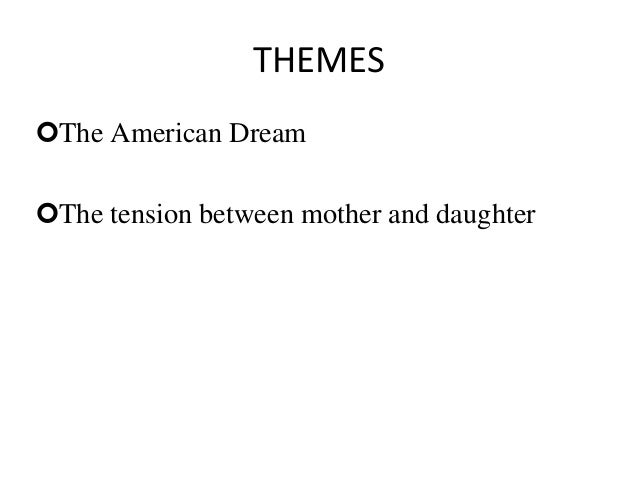 two kinds by amy tan quizlet