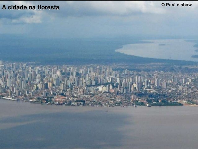 O Pará é show A cidade na floresta