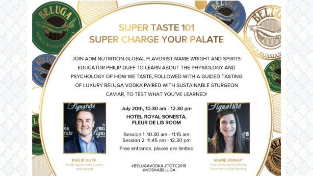 "2 MARIE WRIGHT - Flavour educator & writer (""Elegant Flavors"") - Global VP & Chief Global Flavorist, ADM Nutrition - Presi..."
