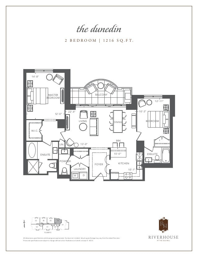 Riverhouse at the old mill 30 old mill road toronto for Toronto house plans
