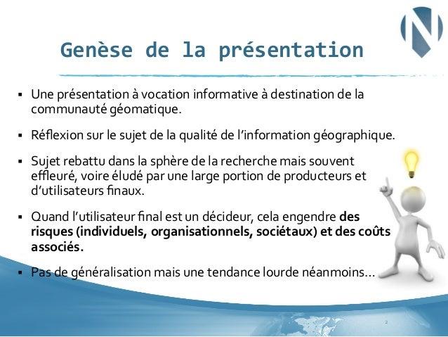 Le décideur face à la désinformation géographique Slide 2