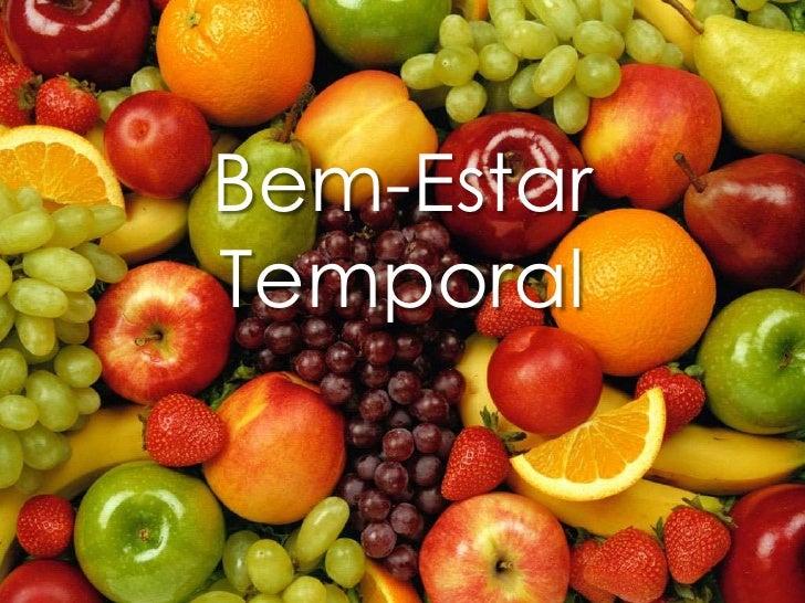 Bem-Estar Temporal<br />