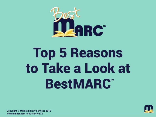 Mitinet Library Services - Top 5 Reasons to Look at BestMARC
