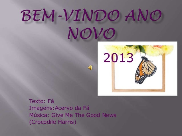 2013Texto: FáImagens:Acervo da FáMúsica: Give Me The Good News(Crocodile Harris)