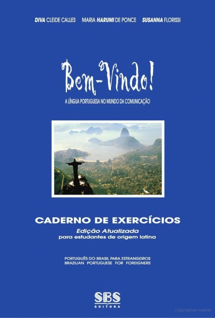 Libro de ejercicios portugues