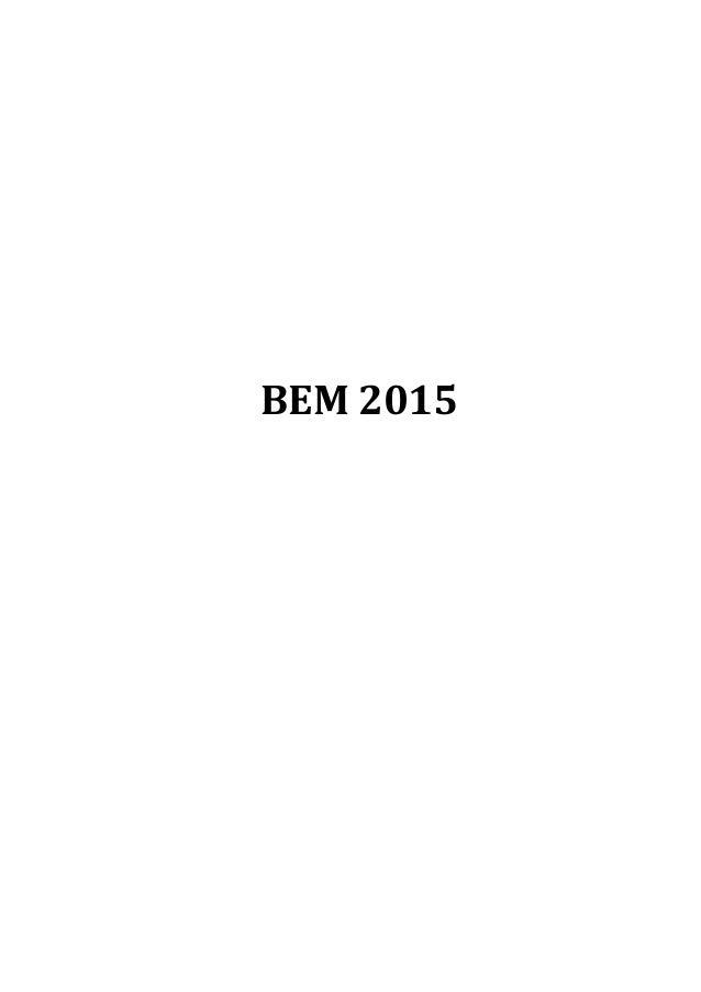 BEM  2015