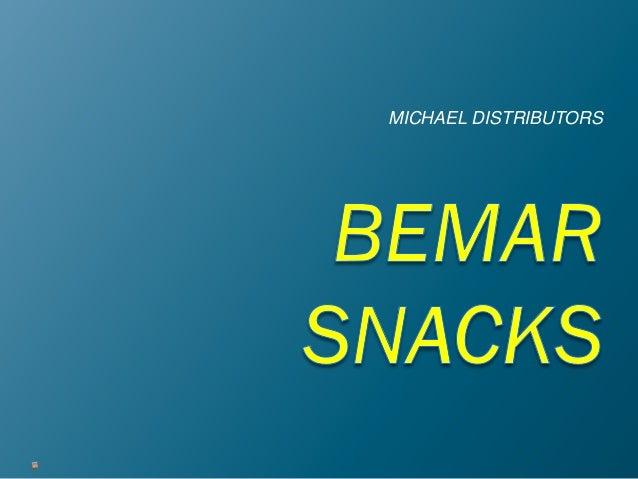 Bemar Snacks Powerpoint