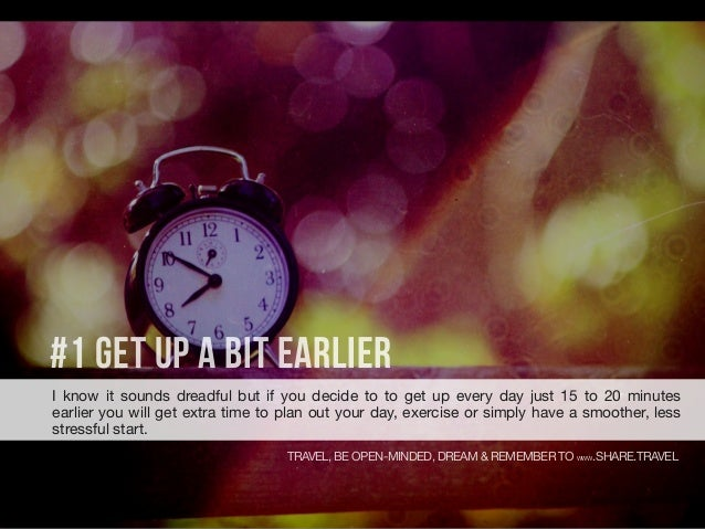 How to Be More Productive and Save Time Slide 3