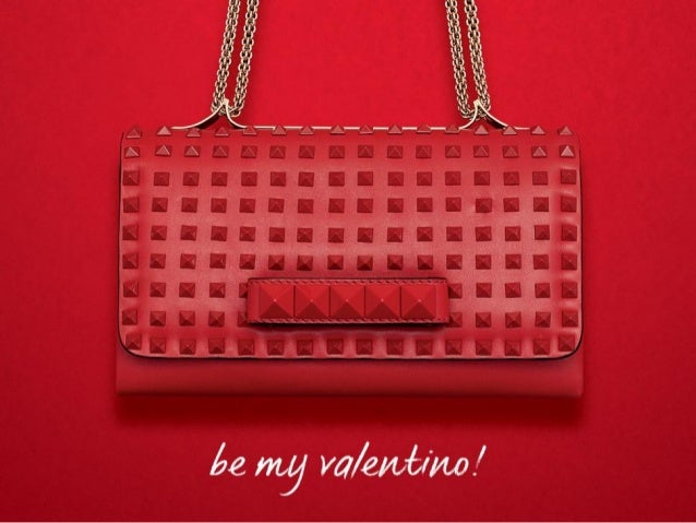 Be My Valentino! Seriously, what's not to love? Red leather and studs go together like roses and rain.