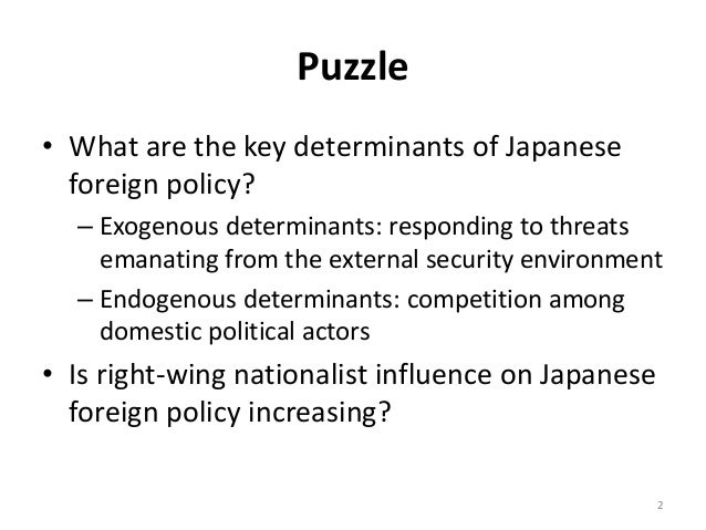 Japan's Foreign Relations and Role in the World Today