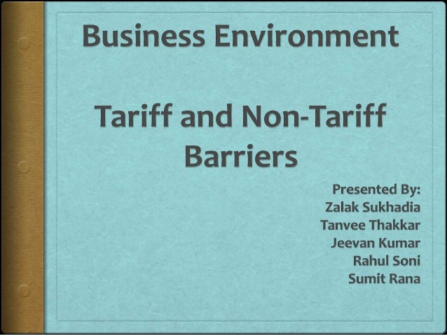 tariff and non tariff barriers Nontariff barriers to trade  regional agricultural trade environment (rate) summary  usaid maximizing agricultural revenue through knowledge, enterprise.