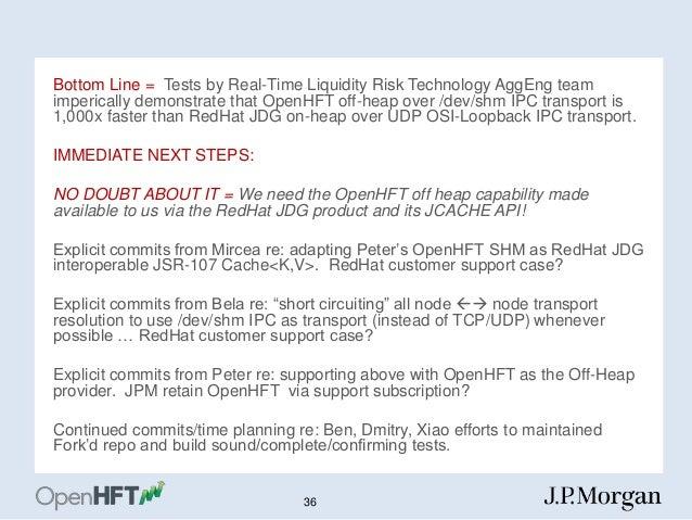 OpenHFT: An Advanced Java Data Locality and IPC Transport ...