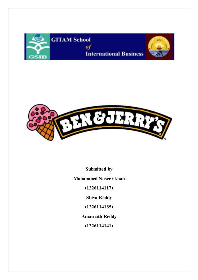 ben and jerry s japan case study Controlled brand-building strategy against the apparent haz ards in granting  of  the famous ice cream company named for its offbeat founders, ben & jerry's.