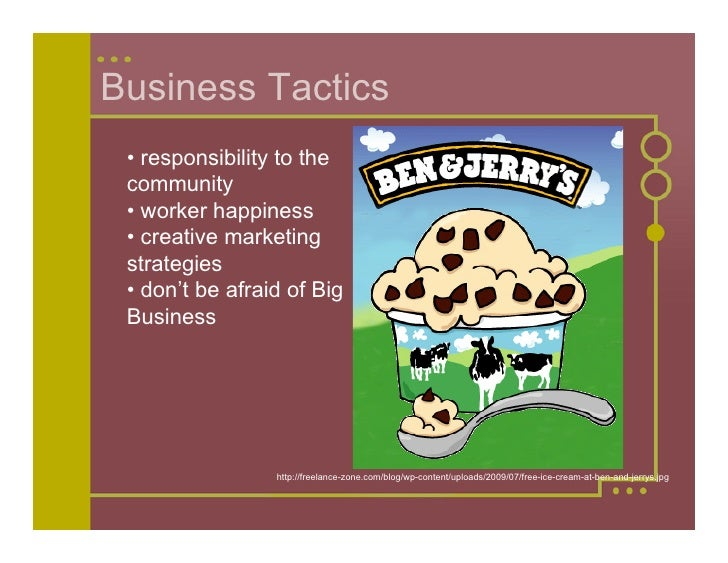 a company analysis of ben jerrys company and foundation With great fanfare in 1989, ben & jerry's cofounder ben cohen created community products inc, a company that was designed to help save the rain cpi had just two shareholders, cohen and jeff furman, a longtime friend of cohen's who was also on the board of cohen's foundation, 1% for peace,.