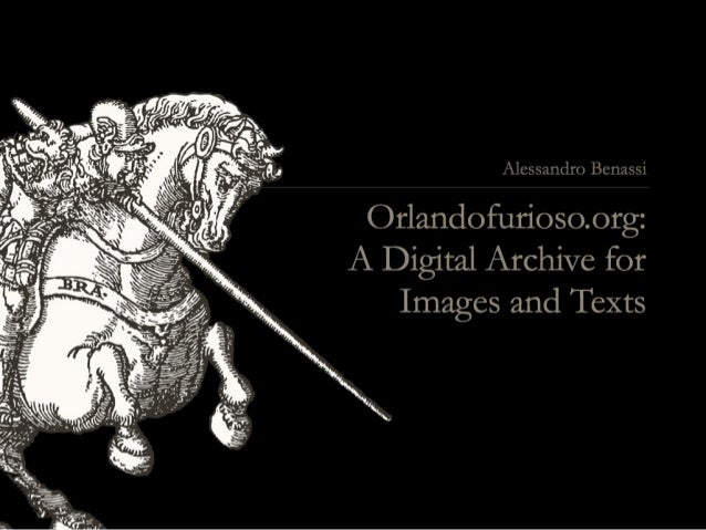 CTL Archive PRIN_06             Orlando Furioso between images and words  Orlando furioso,                Orlando furioso,...