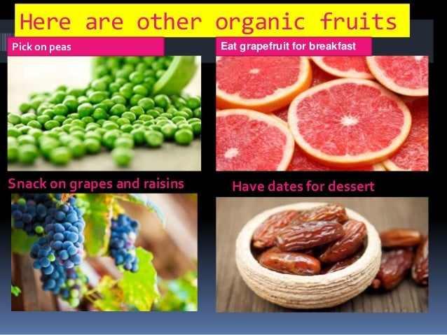 Organic foods that prevent cancer and other diseases