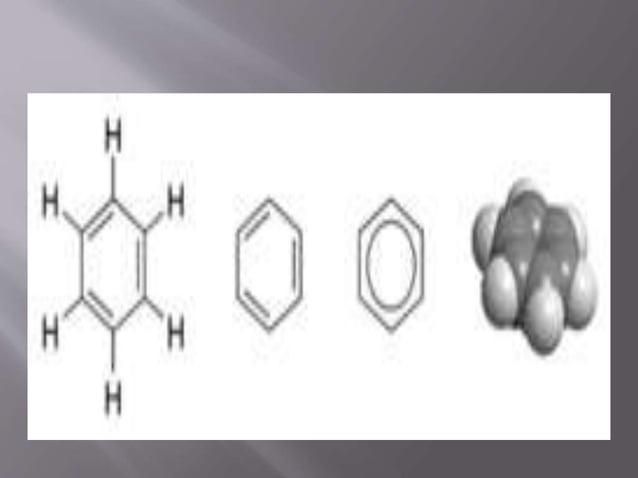 El benceno es un hidrocarburo aromático de fórmula molecular C6H6, (originariamente a él y sus derivados se le denominab...