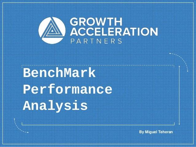 BenchMark Performance Analysis By Miguel Teheran