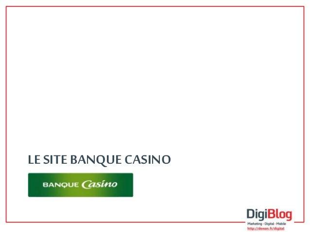 Benchmark - Banque Casino Slide 3