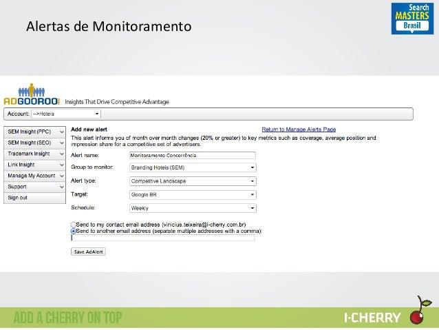 Alertas  de  Monitoramento