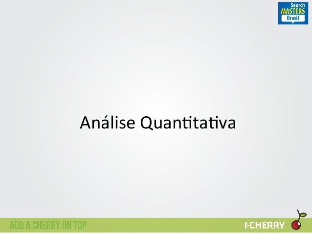 Análise  Quan:ta:va