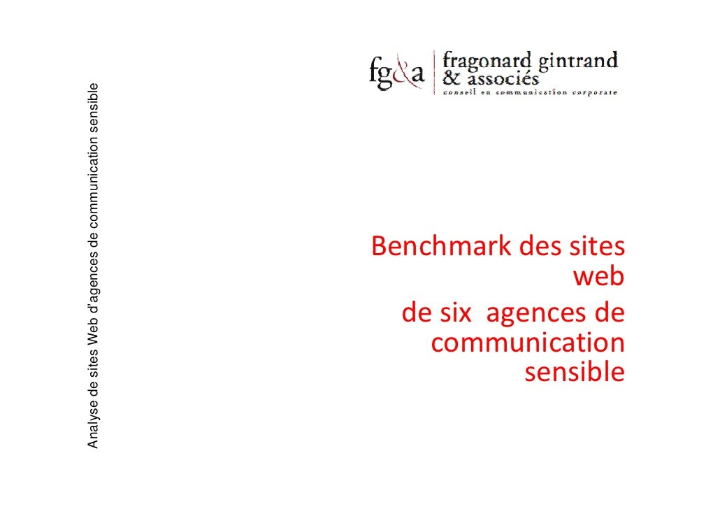Analyse de sites Web d'agences de communication sensible                                                                Be...