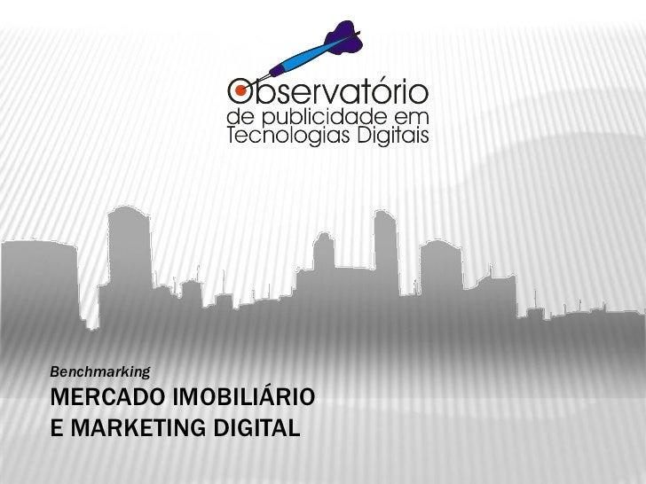 Benchmarking MERCADO IMOBILIÁRIO E MARKETING DIGITAL