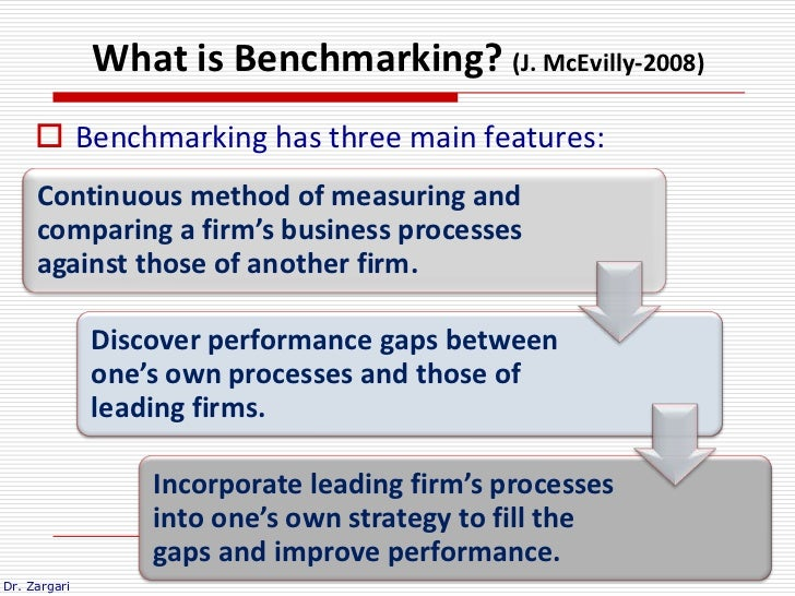 benchmarking is the process of comparing management essay The popularity of benchmarking was spearheaded by the xerox corporation in the 1980s and is now used in corporations throughout the world benchmarking is the process whereby an assessment of an act, or performance, is measured by some means, whether this is by a measurement of time, value, or quantity.