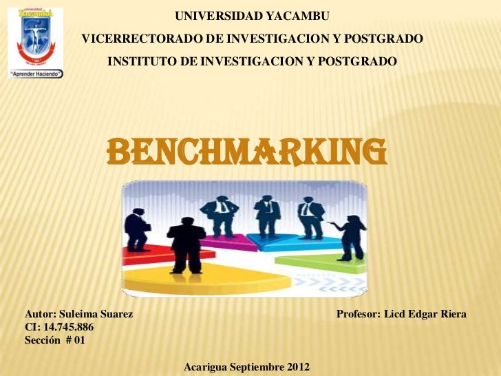UNIVERSIDAD YACAMBU           VICERRECTORADO DE INVESTIGACION Y POSTGRADO                INSTITUTO DE INVESTIGACION Y POST...