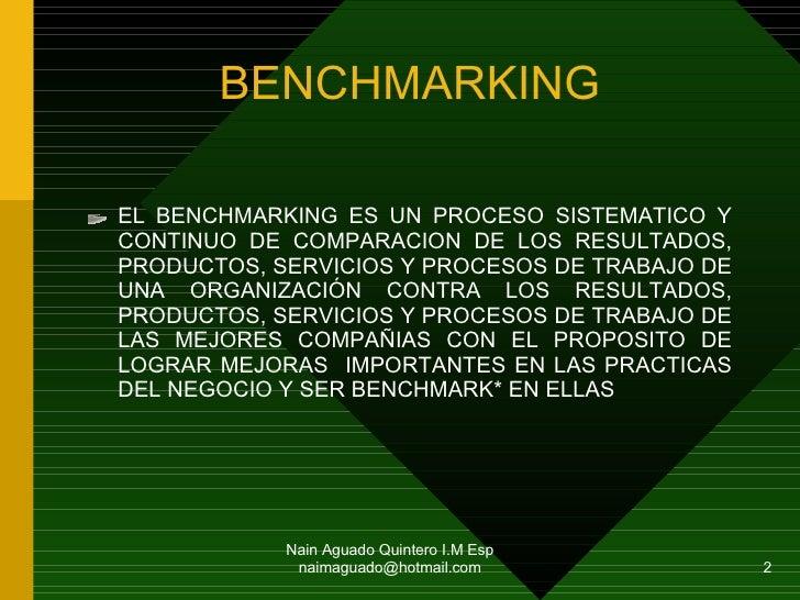 Benchmarking Administrar El Cambio Organizativo Slide 2