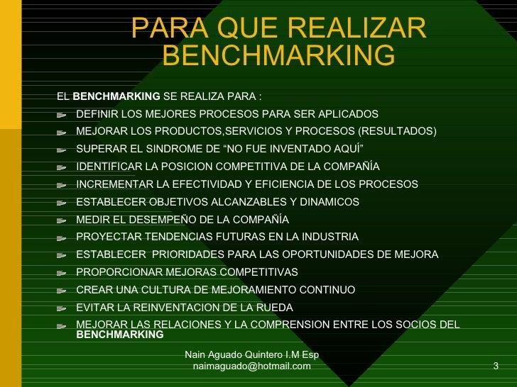 Benchmarking Administrar El Cambio Organizativo Slide 3