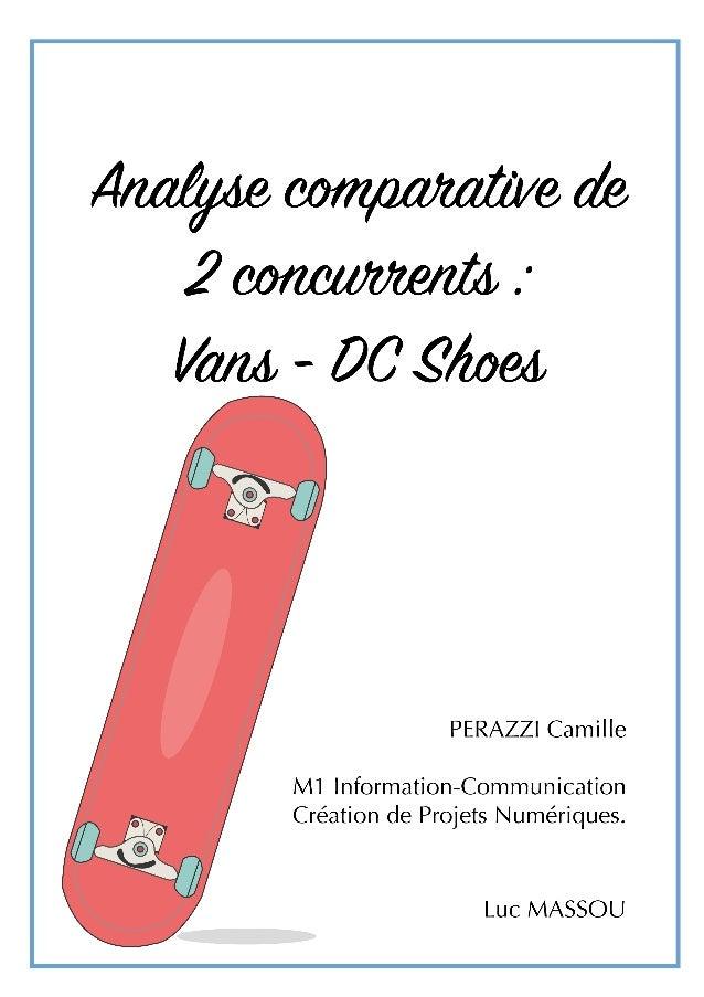 Benchmarking DC Shoes vans