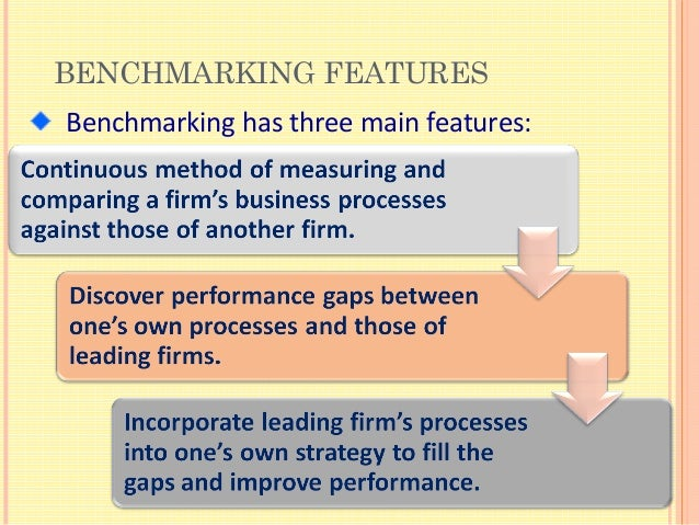 Benchmarking thesis