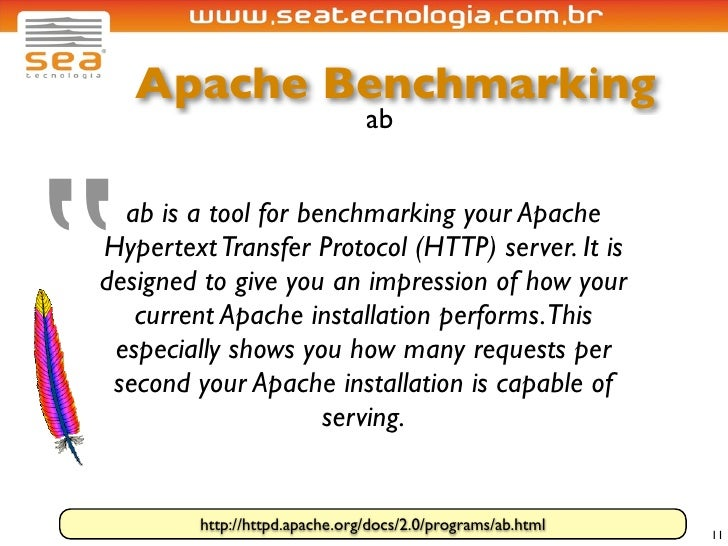 """Apache Benchmarking                                 ab     """"   ab is a tool for benchmarking your Apache Hypertext Transfe..."""