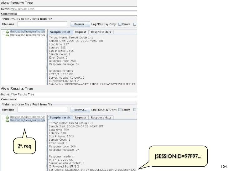 2a. req           JSESSIONID=97F97...                                 104
