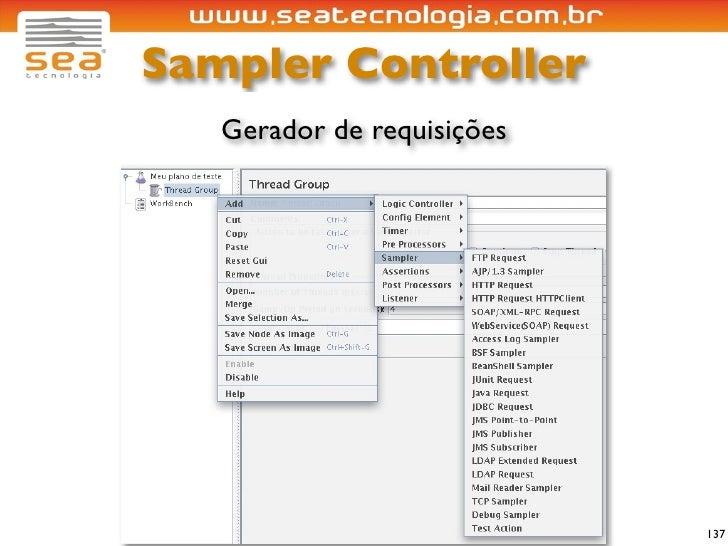 Sampler Controller    Gerador de requisições                                 137