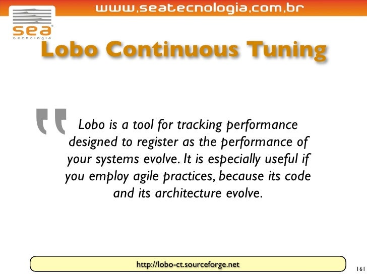 """Lobo Continuous Tuning     """"    Lobo is a tool for tracking performance   designed to register as the performance of  your..."""
