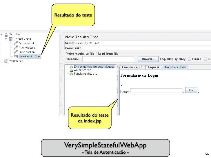 Resultado do teste            Resultado do teste           da index.jsp         VerySimpleStatefulWebApp              - Te...