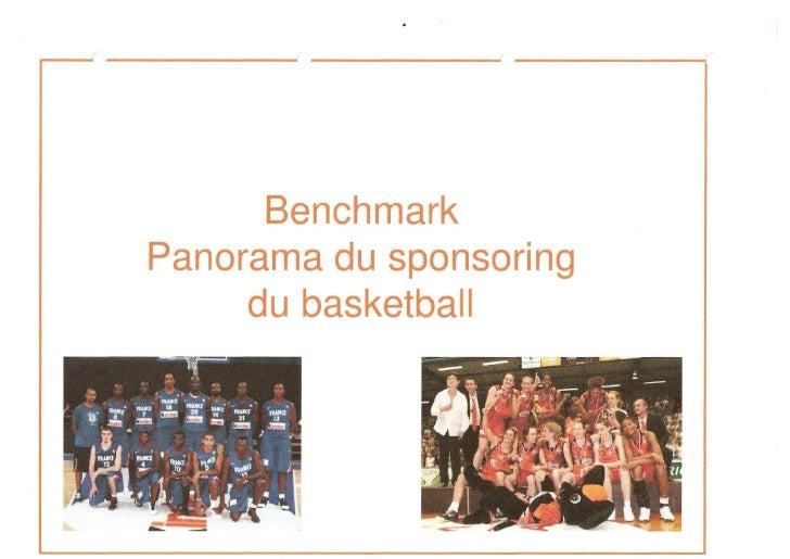 Benchmark panorama du basket français