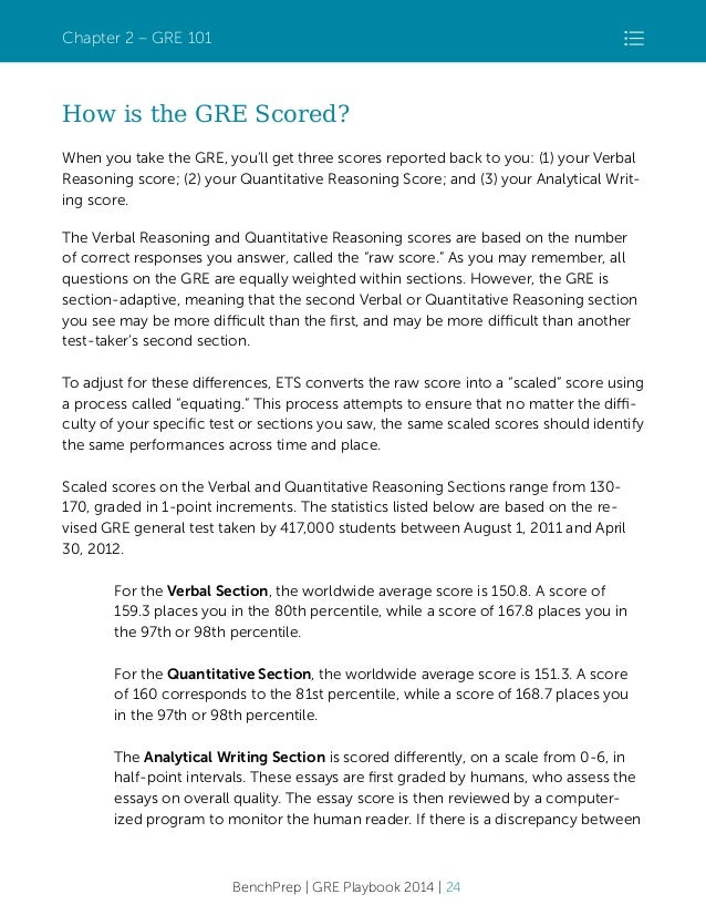 GRE Essay Writing / Analytical Writing (AWA)