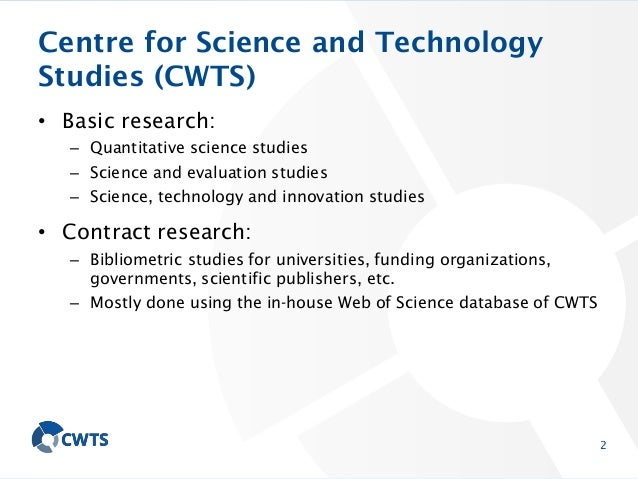 Science Mapping and Research Positioning Slide 3